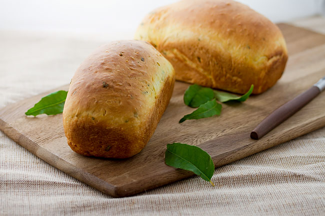 Curry Leaf Bread from Modern Spice