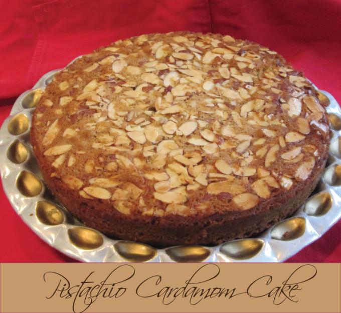 Recipe: David Lebovitz's Pistachio Cardamom Cake
