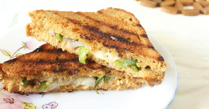 Monica's Indian Express: Spicy Cheese Sandwich