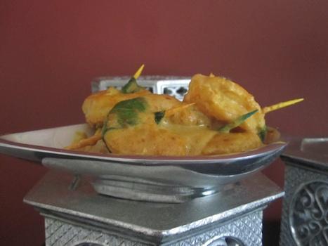 Shrimp in a Saree