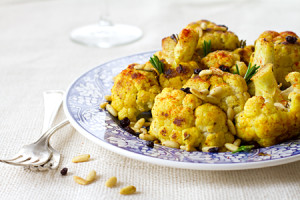 Cauliflower Sautéed With Turmeric and Rosemary