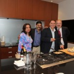 With Chef Jose Andres, Chef Vinod and Chef Art Smith