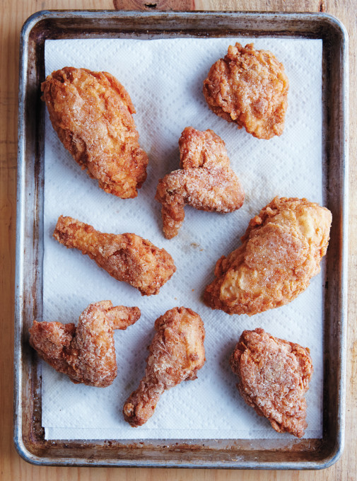 Crispy Fried Chicken Beauty A131110 Silvana's Kitchen 2014
