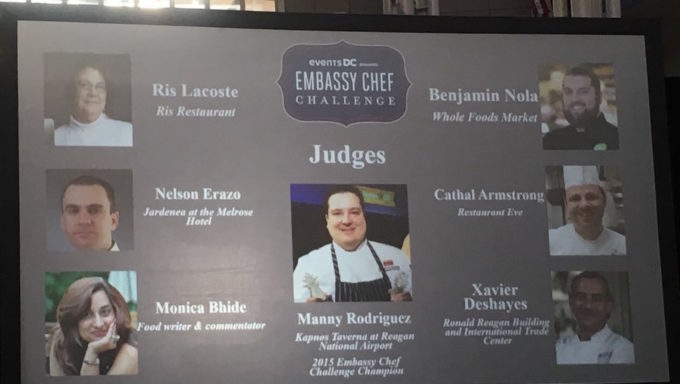 DC Embassy Chef Challenge 2016 in pictures