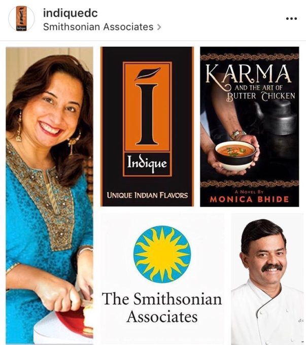 In the Indian Kitchen, Smithsonian Associates, Oct 12th, 2017