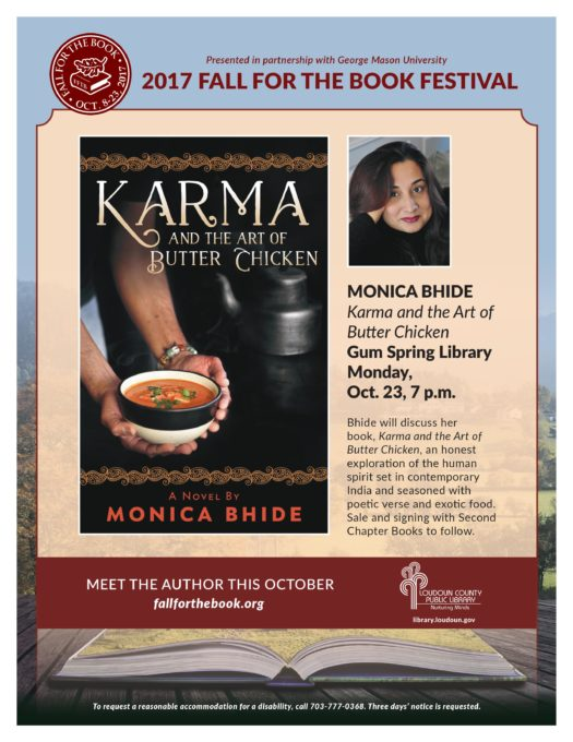 Gum Spring Library Event ~ October 23, 2017
