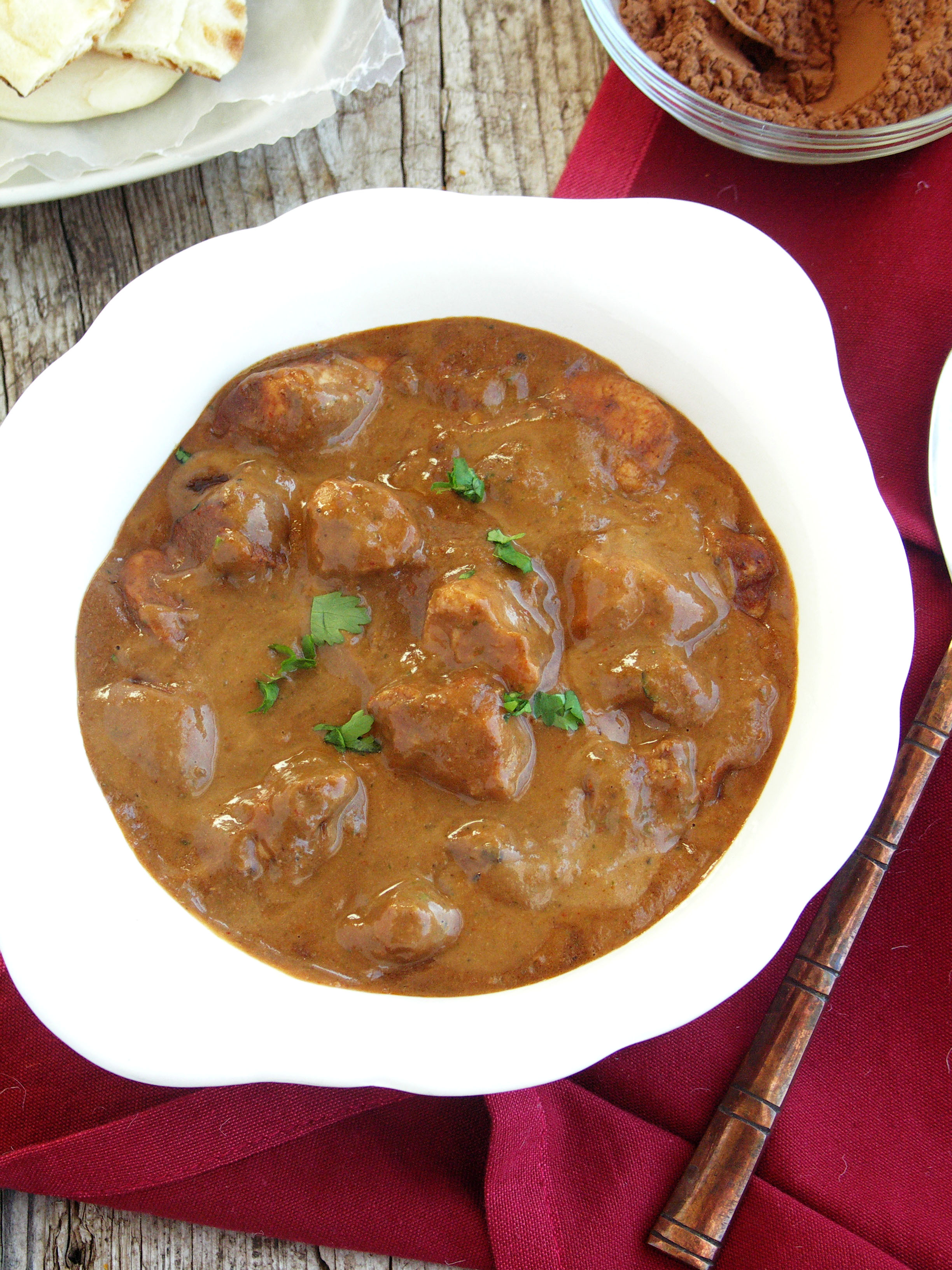 Chocolate chicken curry monica bhide forumfinder Image collections