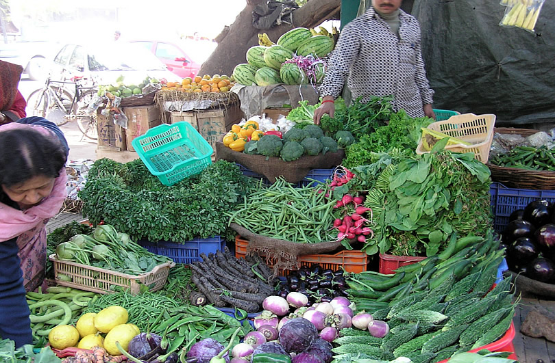 Slideshow: Vegetable Markets around India