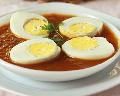 Monica's Indian Express: Egg Curry