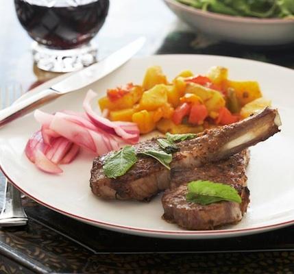 Simply Spiced Lamb Chops