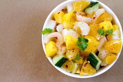 Lychee Salad