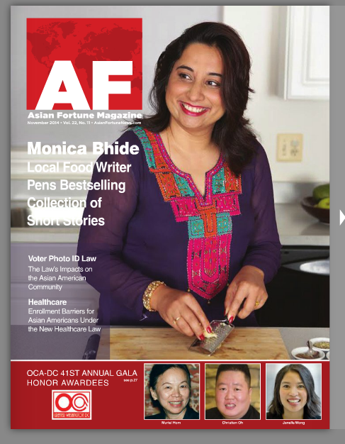 Cover of Asian Fortune magazine, Nov 2014
