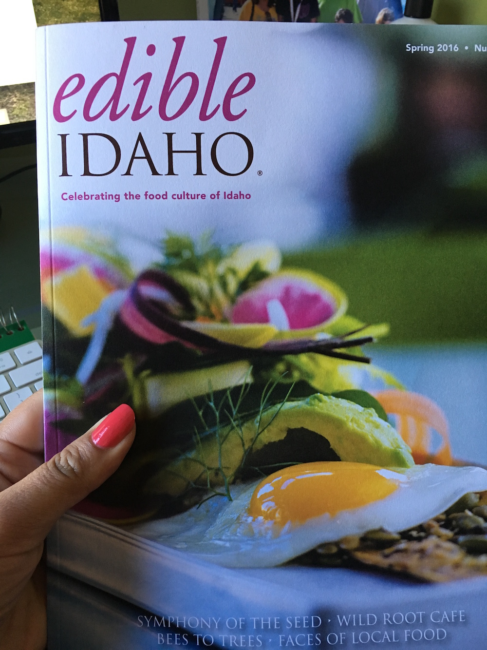 Heartwarming review in Edible Idaho