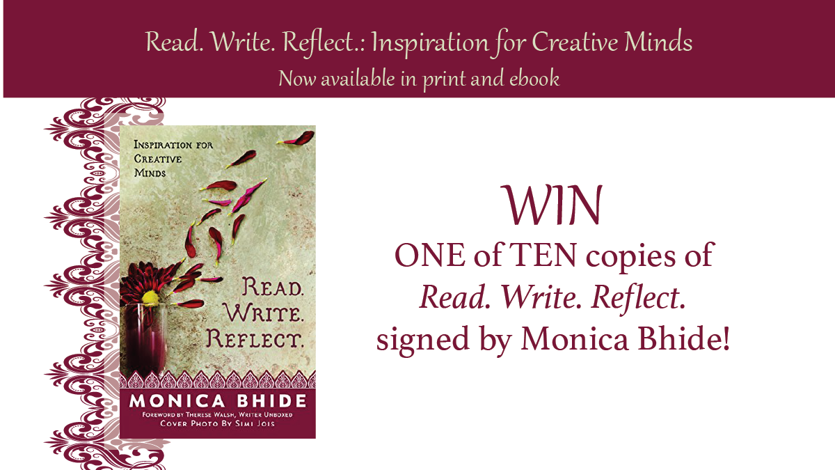 Read. Write. Reflect. giveaway