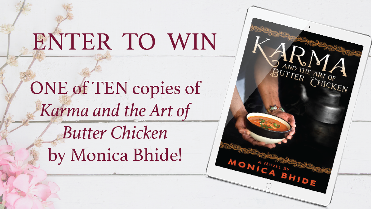 Giveaway - Karma and the Art of Butter Chicken